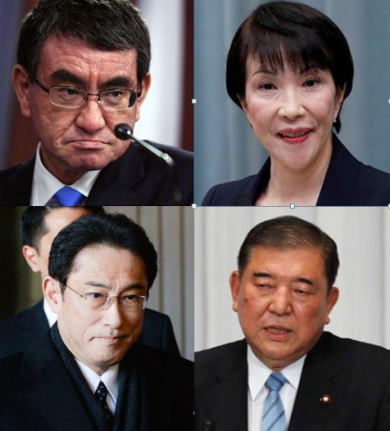 '고노-이시바' 연합 만든 아베의 자충수…고노 차기 총리되나