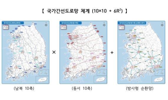국가 간선도로망 30년만에 재편…남북 10개·동서 10개축