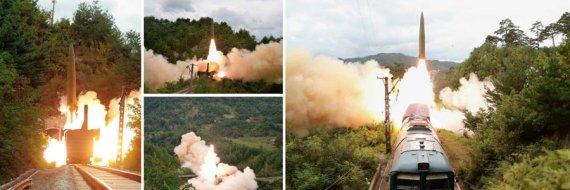 북한 철도기동미사일연대 사격훈련 실시 밝혀