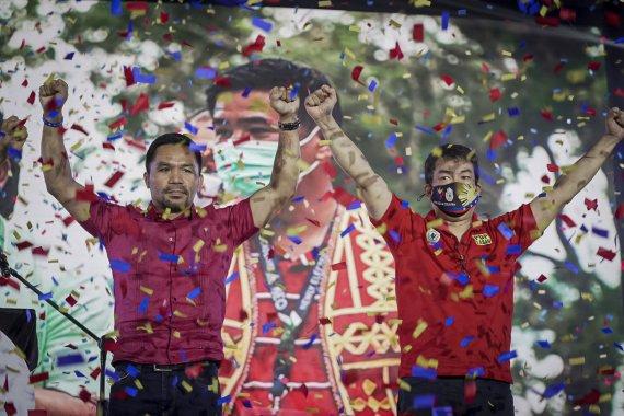필리핀 복싱영웅 파퀴아오, 대선 출마 공식 선언