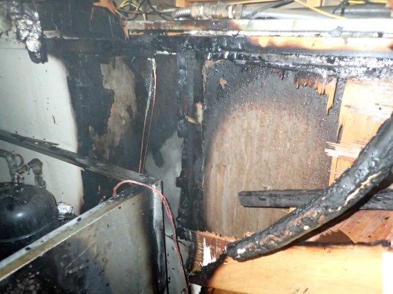부산 음식점 주방 화재…인명피해 없어