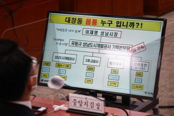 """서울중앙지검장 """"녹취록 속 '그분' …정치인 아냐"""""""