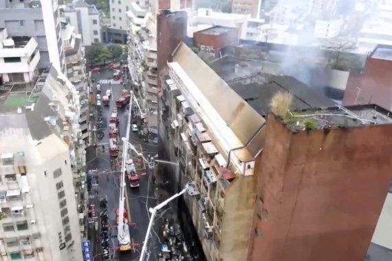 대만 주상복합 건물 화재 사망자 46명으로 늘어