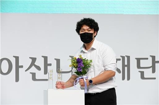 '폐타이어 활용한 신발'...서울시립대 창업팀, '정주영 창업경진대회' 우수상
