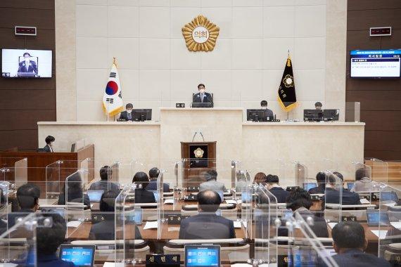 용인시의회, 임시회 폐회…조례안 등 처리