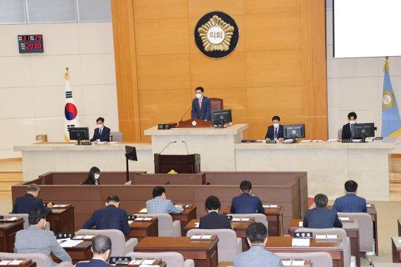 포항시의회, 시정질문...4명 의원 현안 질의