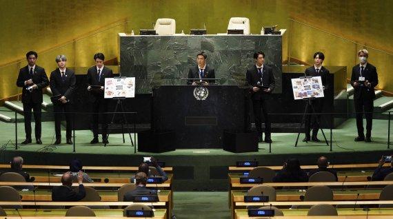 BTS 유엔 특사 비용 지급했다더니?…정부 '거짓말' 논란