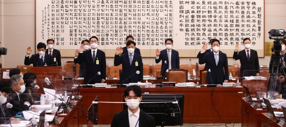법사위서 윤석열·이재명 공방…교육위는 조국 급여 공세