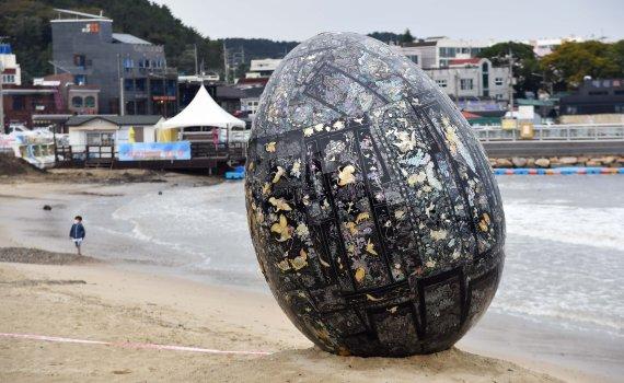 내달 14일까지 일광해수욕장에 '바다미술제' 열려