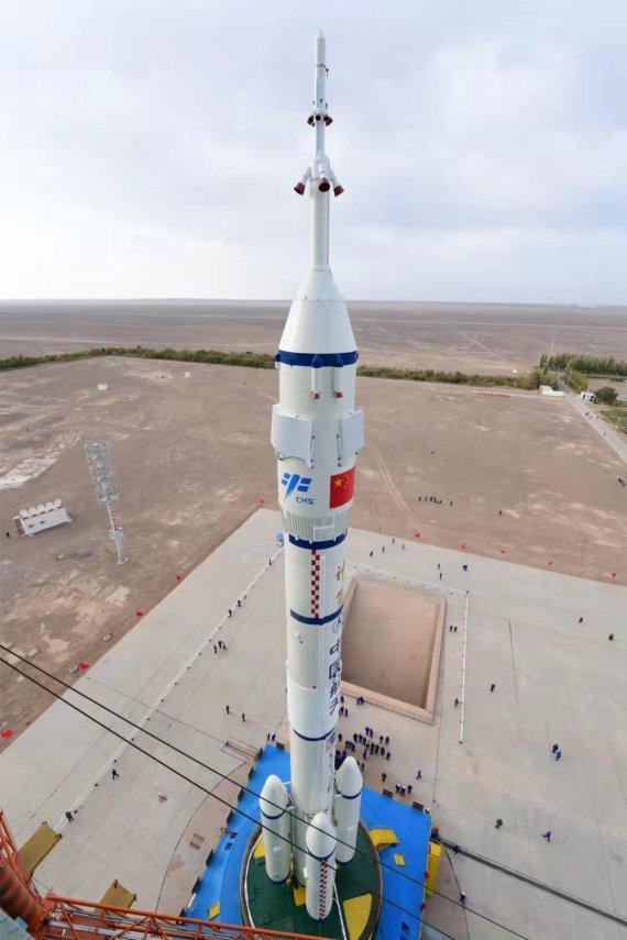 중국, 16일 우주정거장 건설 최종점검 선저우 13호 발사