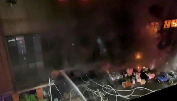 대만 가오슝 13층 건물 화재 사망자 46명으로 늘어(상보)