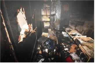 서울 구로구 병원서 화재…사람 4명·강아지 2마리 대피