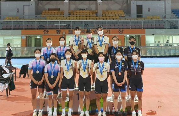 충북선수단, 제102회 전국체육대회 메달 66개 획득