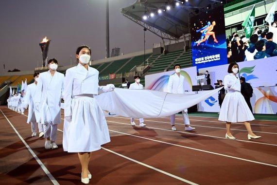 전국체전 7일간 열전 마치고 폐막…서울 1위·경기 2위·경북 3위