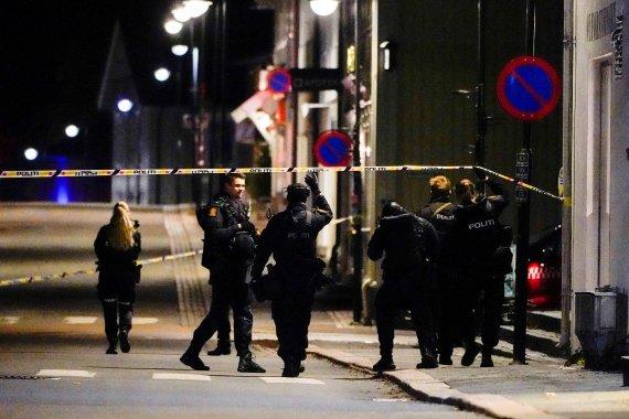 """노르웨이 경찰 """"'5명 사망' 화살 난사 공격, 테러 행위로 추정"""""""