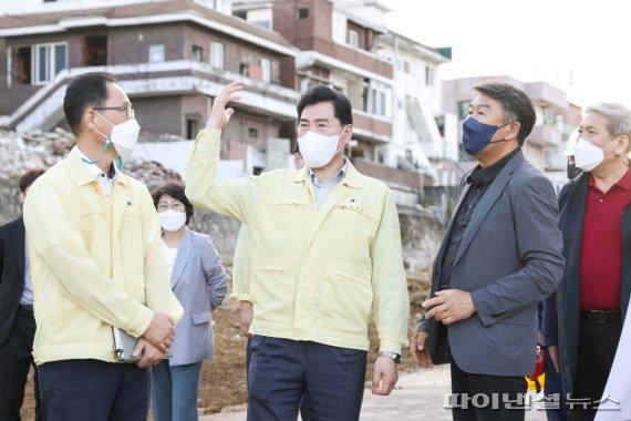 김상돈 의왕시장 43차 민원현장 로드체크 진행