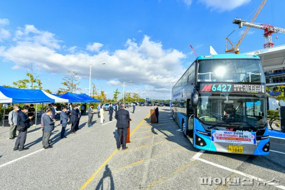 김포시 2층전기버스 6대투입…전국 3번째