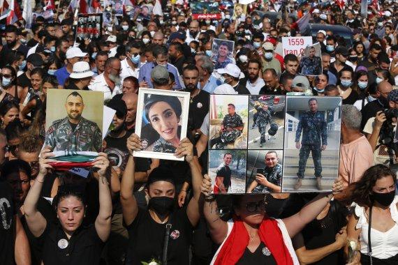 유엔사무총장, 베이루트 시위대저격에 비난성명