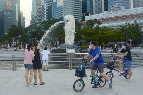 싱가포르 '격리 없는' 여행 재개에 항공사이트 마비