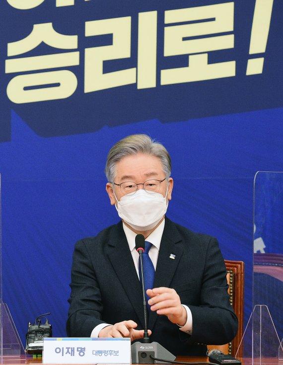 """이재명 """"윤석열, 친일파가 독립군 행세…정치활동 중단해야"""""""