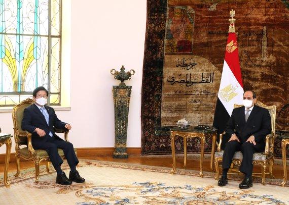 朴 의장, 이탈리아·이집트 '의회·세일즈 외교' 마무리